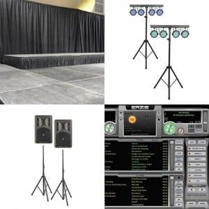 Bedrijfshal licht en geluid (tot 100m2)