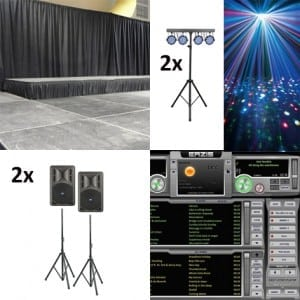 Bedrijfshal licht en geluid (tot 200m2)