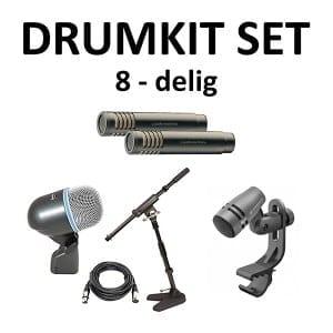 Drumkit set met 1 kick