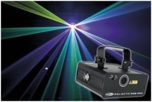 Galactic RGB-300  320mW RGB-laser met IR-afstandsbediening