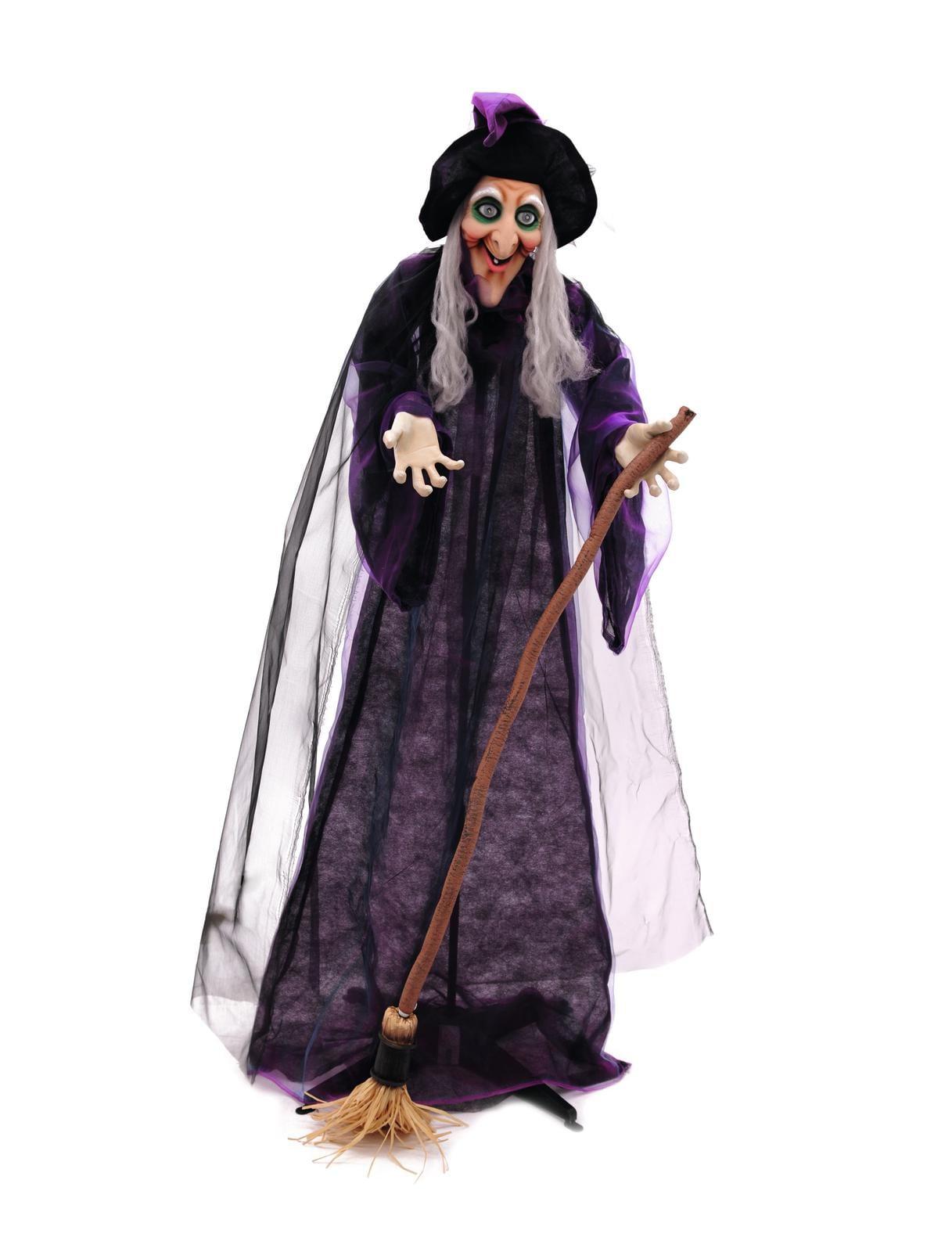 Halloween decor staande heks