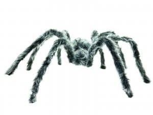 Halloween Decor Grijze spin 60 cm
