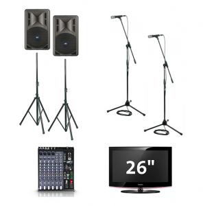 Karaokeset compleet incl monitor