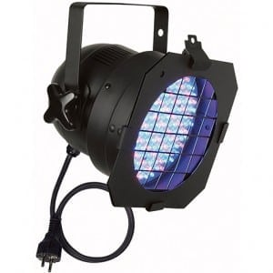LED par 56 black DMX/stand alone