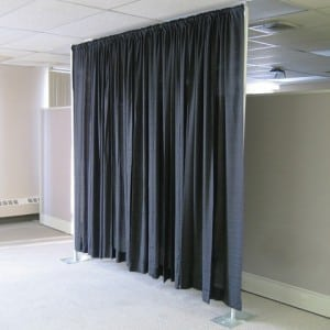 Pipe and Drape systeem hoogte 2