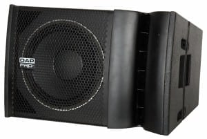 line array systeem 2 x compact 12 inch