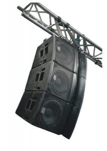 line array systeem 6 x compact 12 inch