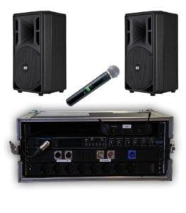 Compacte audiosets