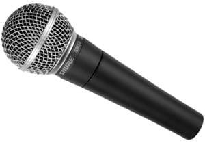 Zang en spraakmicrofoons